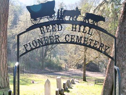 VIEW, REED-HILL PIONEER CEMETERY - Douglas County, Oregon   REED-HILL PIONEER CEMETERY VIEW - Oregon Gravestone Photos