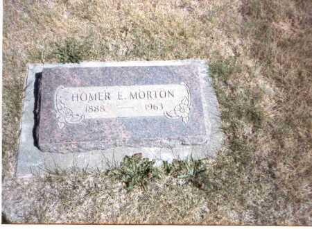 MORTON, HOMER E - Gilliam County, Oregon | HOMER E MORTON - Oregon Gravestone Photos