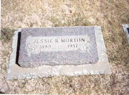 MORTON, JESSIE R. - Gilliam County, Oregon | JESSIE R. MORTON - Oregon Gravestone Photos