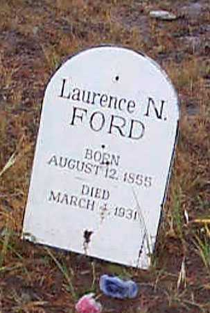 FORD, LAURENCE N. - Grant County, Oregon   LAURENCE N. FORD - Oregon Gravestone Photos