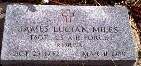 MILES (KOR), JAMES LUCIAN - Grant County, Oregon | JAMES LUCIAN MILES (KOR) - Oregon Gravestone Photos