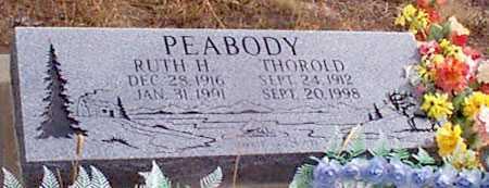 PEABODY, THOROLD - Grant County, Oregon | THOROLD PEABODY - Oregon Gravestone Photos