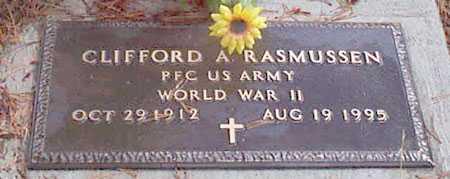 RASMUSSEN, CLIFFORD A - Grant County, Oregon | CLIFFORD A RASMUSSEN - Oregon Gravestone Photos