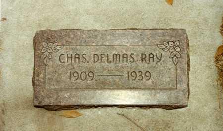 RAY, CHARLES DELMAS - Grant County, Oregon   CHARLES DELMAS RAY - Oregon Gravestone Photos