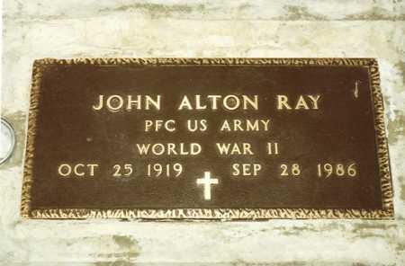 RAY (WWII), JOHN - Grant County, Oregon | JOHN RAY (WWII) - Oregon Gravestone Photos
