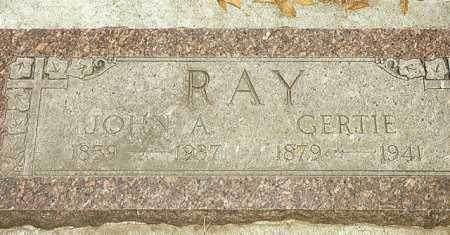 RAY, GERTIE - Grant County, Oregon | GERTIE RAY - Oregon Gravestone Photos