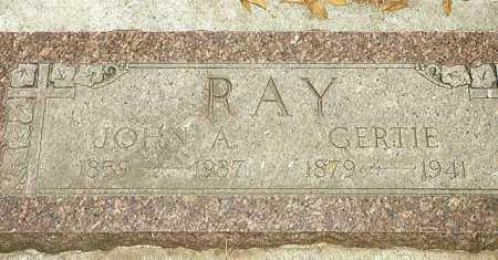 RAY, JOHN - Grant County, Oregon | JOHN RAY - Oregon Gravestone Photos