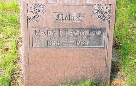 RAYMOND, MARY - Grant County, Oregon | MARY RAYMOND - Oregon Gravestone Photos