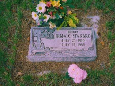 STANBRO, IRMA - Grant County, Oregon | IRMA STANBRO - Oregon Gravestone Photos
