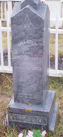 STAPLETON, WILLIAM L. - Grant County, Oregon | WILLIAM L. STAPLETON - Oregon Gravestone Photos