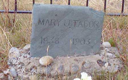 TABOR, MARY U. - Grant County, Oregon   MARY U. TABOR - Oregon Gravestone Photos