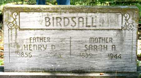 FISHER BIRDSALL, SARAH - Jackson County, Oregon | SARAH FISHER BIRDSALL - Oregon Gravestone Photos