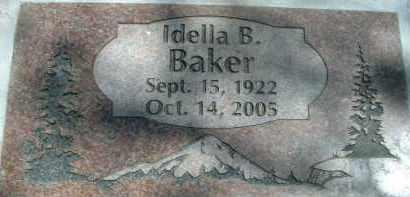 BAKER, IDELLA B. - Klamath County, Oregon | IDELLA B. BAKER - Oregon Gravestone Photos