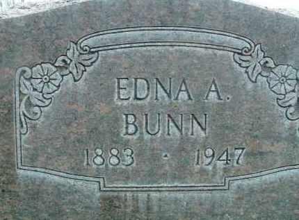 BUNN, EDNA A. - Klamath County, Oregon | EDNA A. BUNN - Oregon Gravestone Photos
