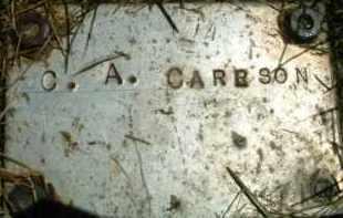 CARRSON, C. A. - Klamath County, Oregon | C. A. CARRSON - Oregon Gravestone Photos