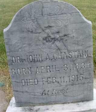 CHASTAIN, JOHN A. - Klamath County, Oregon   JOHN A. CHASTAIN - Oregon Gravestone Photos
