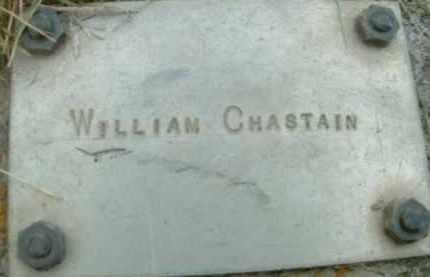 CHASTAIN, WILLIAM - Klamath County, Oregon   WILLIAM CHASTAIN - Oregon Gravestone Photos