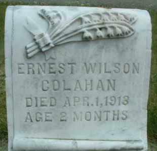 COLAHAN, ERNEST WILSON - Klamath County, Oregon | ERNEST WILSON COLAHAN - Oregon Gravestone Photos