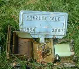 COLE, CHARLES - Klamath County, Oregon | CHARLES COLE - Oregon Gravestone Photos