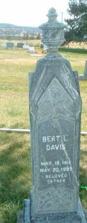 DAVIS, BERT L. - Klamath County, Oregon | BERT L. DAVIS - Oregon Gravestone Photos