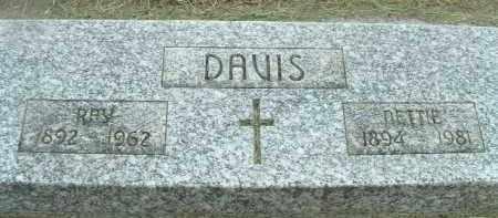 DAVIS, RAY - Klamath County, Oregon | RAY DAVIS - Oregon Gravestone Photos