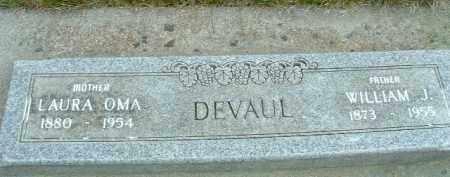 DEVAUL, WILLIAM J. - Klamath County, Oregon | WILLIAM J. DEVAUL - Oregon Gravestone Photos