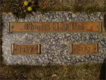 DEVORE, CHARLES O. - Klamath County, Oregon   CHARLES O. DEVORE - Oregon Gravestone Photos