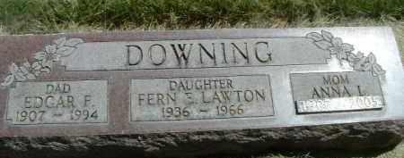 DOWNING LAWTON, FERN E. - Klamath County, Oregon | FERN E. DOWNING LAWTON - Oregon Gravestone Photos