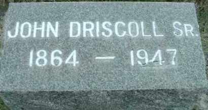 DRISCOLL, JOHN - Klamath County, Oregon | JOHN DRISCOLL - Oregon Gravestone Photos