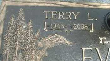 EVANS, TERRY L. - Klamath County, Oregon | TERRY L. EVANS - Oregon Gravestone Photos