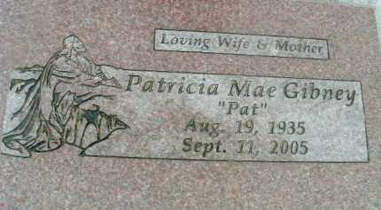GIBNEY, PATRICIA MAE - Klamath County, Oregon | PATRICIA MAE GIBNEY - Oregon Gravestone Photos