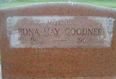 GOODNER, EDNA MAY - Klamath County, Oregon   EDNA MAY GOODNER - Oregon Gravestone Photos