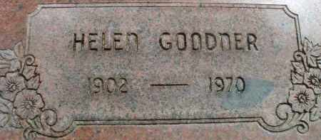 GOODNER, HELEN - Klamath County, Oregon   HELEN GOODNER - Oregon Gravestone Photos