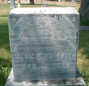 GRIFFITH, MARY E. - Klamath County, Oregon | MARY E. GRIFFITH - Oregon Gravestone Photos