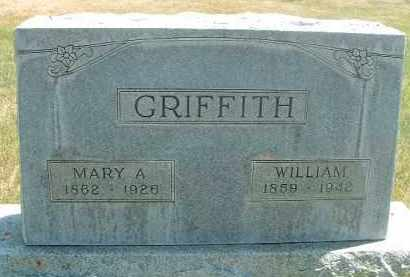 GRIFFITH, MARY ARTIE - Klamath County, Oregon   MARY ARTIE GRIFFITH - Oregon Gravestone Photos
