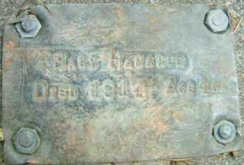 HAMAKER, BABY - Klamath County, Oregon   BABY HAMAKER - Oregon Gravestone Photos