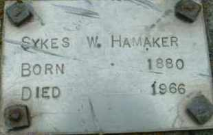 HAMAKER, SYKES W. - Klamath County, Oregon | SYKES W. HAMAKER - Oregon Gravestone Photos