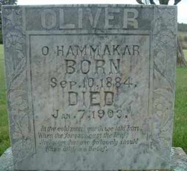HAMMAKER, OLIVER - Klamath County, Oregon   OLIVER HAMMAKER - Oregon Gravestone Photos