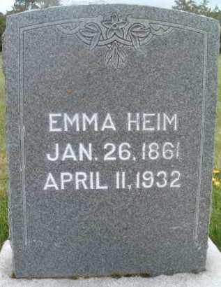 HEIM, EMMA - Klamath County, Oregon   EMMA HEIM - Oregon Gravestone Photos