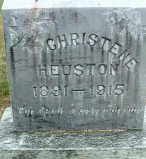 HEUSTON, CHRISTENE - Klamath County, Oregon   CHRISTENE HEUSTON - Oregon Gravestone Photos