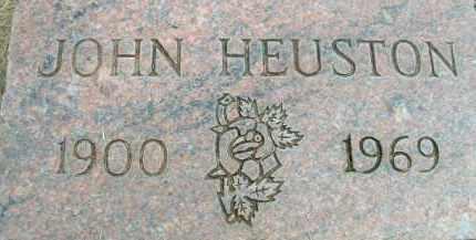 HEUSTON, JOHN - Klamath County, Oregon | JOHN HEUSTON - Oregon Gravestone Photos