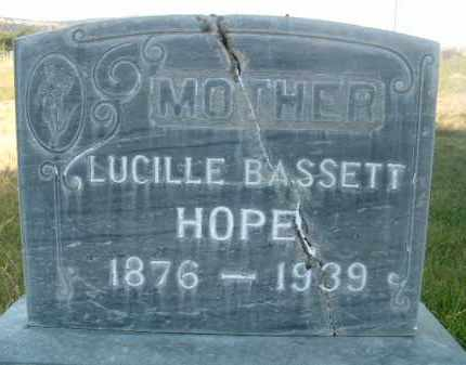 HOPE, LUCILLE - Klamath County, Oregon | LUCILLE HOPE - Oregon Gravestone Photos
