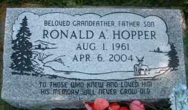 HOPPER, RONALD A. - Klamath County, Oregon   RONALD A. HOPPER - Oregon Gravestone Photos