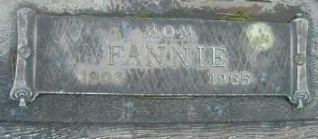 HORSLEY, FANNIE - Klamath County, Oregon   FANNIE HORSLEY - Oregon Gravestone Photos