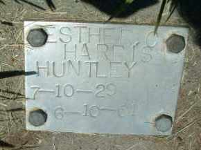 HARRIS HUNTLEY, ESTHER - Klamath County, Oregon | ESTHER HARRIS HUNTLEY - Oregon Gravestone Photos