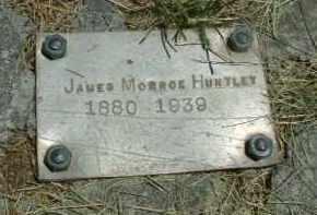 HUNTLEY, JAMES MONROE - Klamath County, Oregon | JAMES MONROE HUNTLEY - Oregon Gravestone Photos