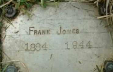 JONES, FRANK - Klamath County, Oregon   FRANK JONES - Oregon Gravestone Photos
