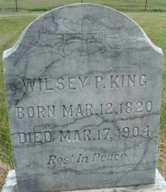 KING, WILSEY P. - Klamath County, Oregon | WILSEY P. KING - Oregon Gravestone Photos