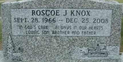 KNOX, ROSCOE J. - Klamath County, Oregon | ROSCOE J. KNOX - Oregon Gravestone Photos