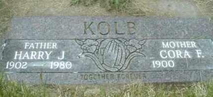KOLB, CORA F. - Klamath County, Oregon | CORA F. KOLB - Oregon Gravestone Photos